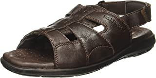 Hush Puppies Men's Charles Sandal Open Leather Athletic & Outdoor Sandals
