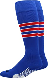 3 striped baseball socks