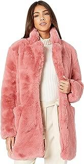 Sophie 2 Faux Fur Coat Rose SM