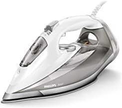 Philips Azur GC4901/10 - Plancha Ropa Vapor, 2800 W, Golpe de Vapor de 220 g, 50 g/min de Vapor Continuo, Limpieza de Cal en 15 segundos, Autoapagado, Gris