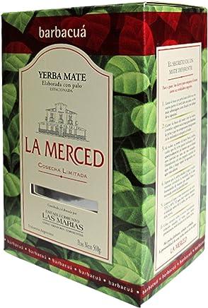 LA MERCED Barbacua Cosecha Limitada Yerba Mate 500gr. - Gluten Free.