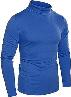 Fensajomon Men Lapel Neck Long Sleeve Stripe Print Casual Loose Fit Button Down Shirt