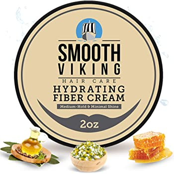 Smooth Viking - Hair Styling Fiber Cream for Men - Medium Hold with Matte Finish - Water Soluble Shaping Cream For Everyday Use