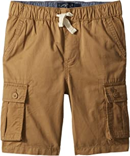 Lucky Brand Kids Pull-On Cargo Woven Shorts (Little Kids/Big Kids)