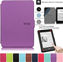 Kindle Paperwhite Case,Artyond PU Leather Case with Auto Wake/Sleep Feature Smart Cover Thinnest and Lightest Case for Ama...