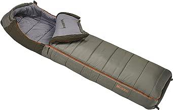 Slumberjack Borderland 0 Dual Zipper Hooded Rectangular Sleeping Bag