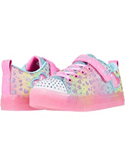 Tristemente Cambiable exceso  Skechers kids twinkle toes shuffles glitter girly 10923l lights little kid  big + FREE SHIPPING | Zappos.com