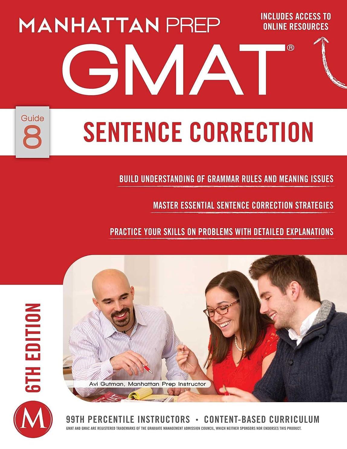動機付ける去る航海のGMAT Sentence Correction (Manhattan Prep GMAT Strategy Guides Book 8) (English Edition)