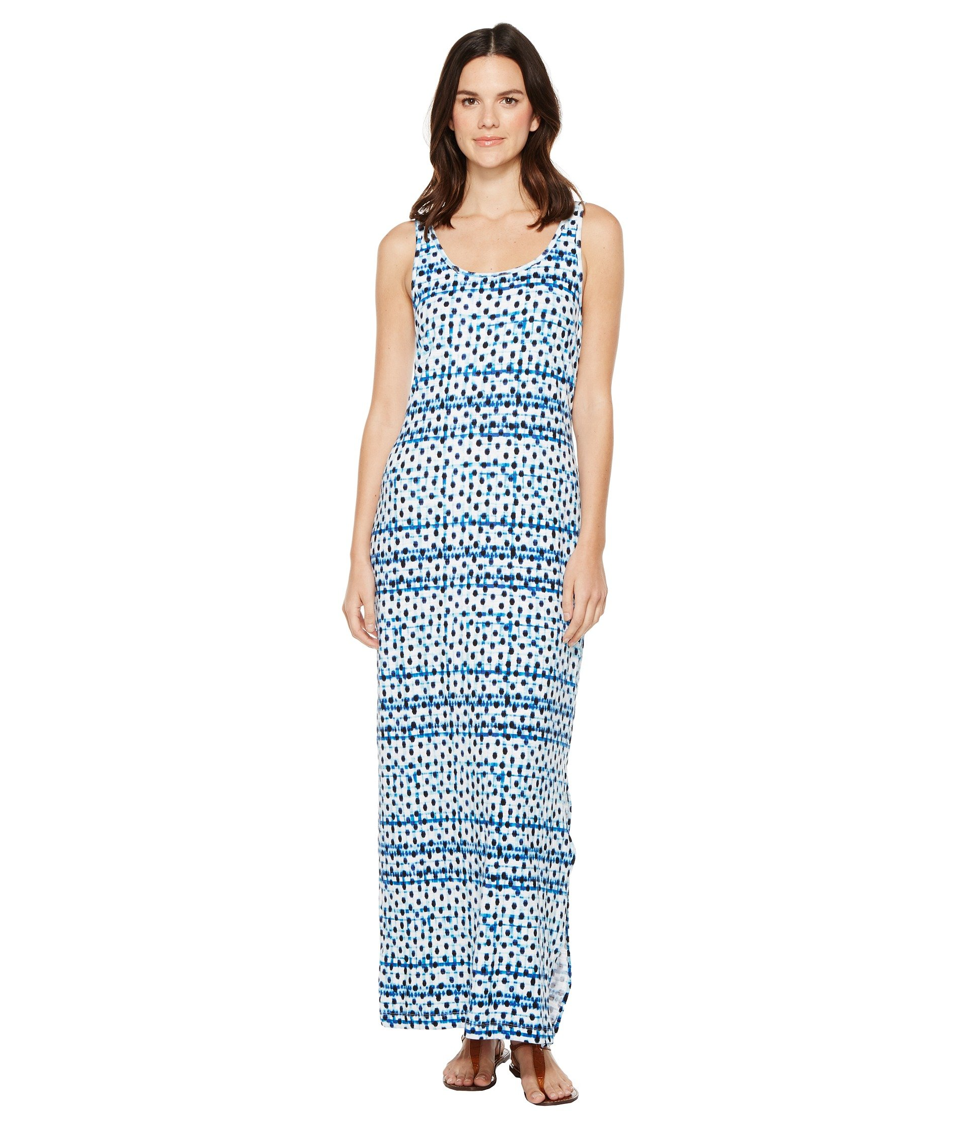 Dot Matrix Maxi Dress