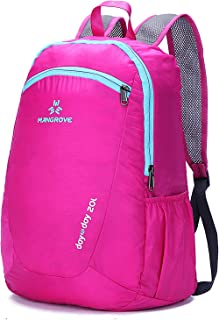 Mangrove? 15L/20L Ultra Lightweight Packable Backpack, Hiking Daypack for Camping Outdoor Travel Biking School Traveling
