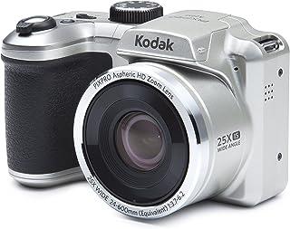 Kodak PIXPRO AZ251 Cámara Puente 16 MP 1/2.3 CCD 4608 x 3456 Pixeles Negro Plata - Cámara Digital (16 MP 4608 x 3456 Pixeles CCD 25x HD-Ready Negro Plata)