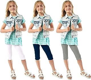 Girls Leggings 3-Pack | Great Basics Everyday Wear