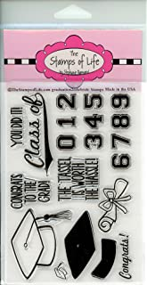 Graduation Stamps for Card-Making and Scrapbooking Supplies by The Stamps of Life - Graduation2Celebrate