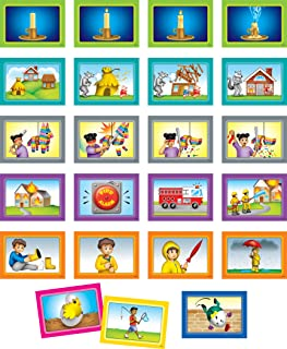 Teacher Created Resources 4-Scene Sequencing Pocket Chart Cards (TCR20848)
