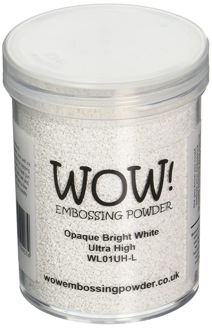 Wow Embossing Powder Embossing Powder Ultra High Large Jar, 160ml, Opaque Bright White