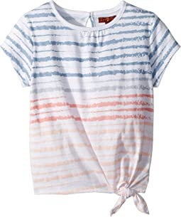 7 For All Mankind Kids - Tie Front Top (Little Kids)