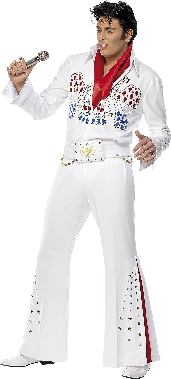 Smiffy's Costume per travestimento da Elvis, Adulto, taglia  M
