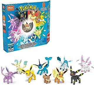 Mega Construx Pokémon Pack de evoluciones Eevee, juguete de construcción niños +6 años (Mattel GFV85)
