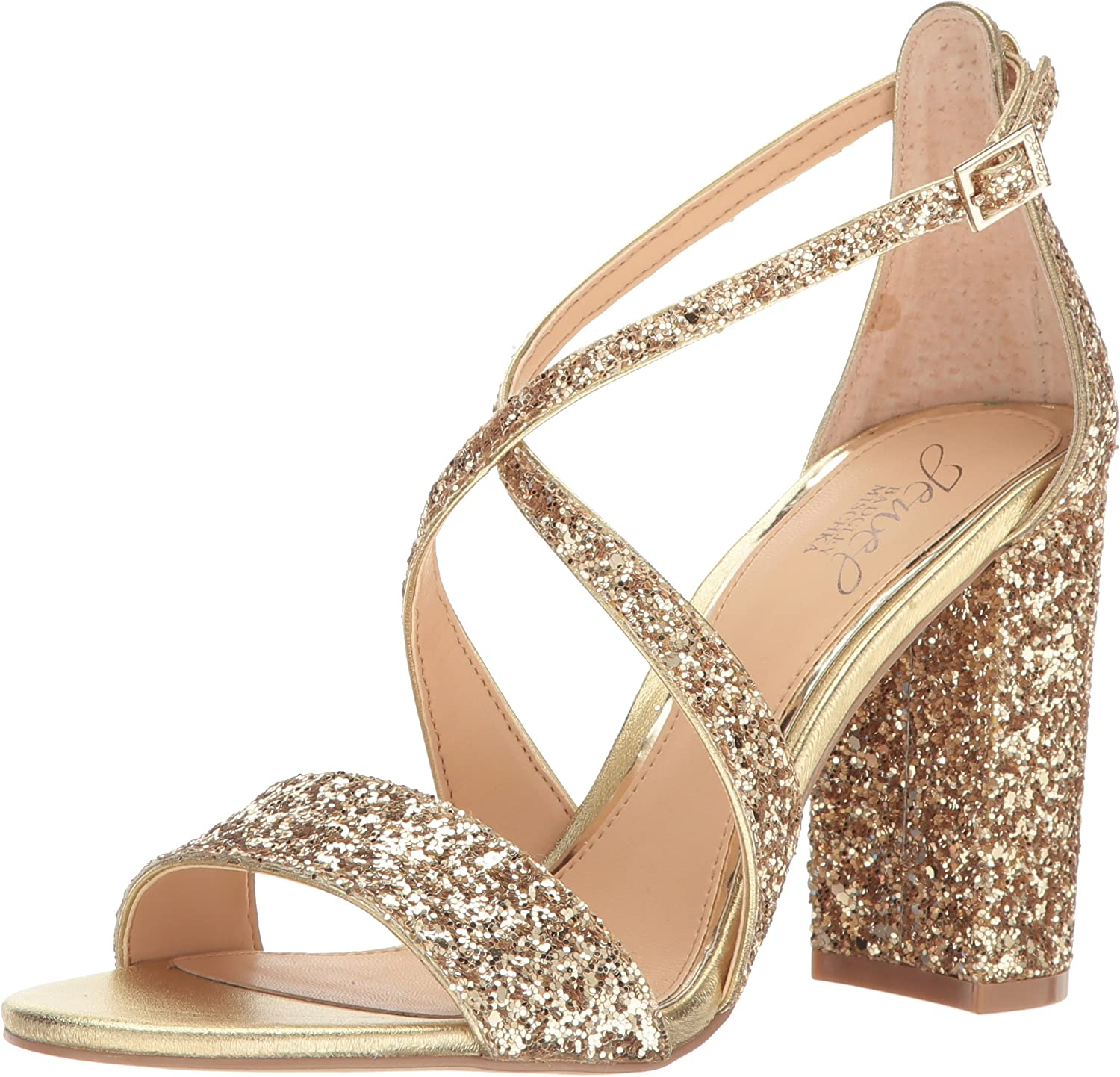 Outlet sale feature Jewel Badgley Mischka Women's Sandal Limited time cheap sale Dress Cook