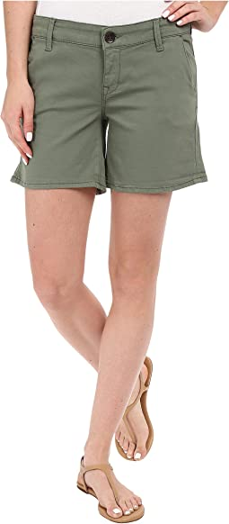Vienna Shorts in Sea Sprey Twill