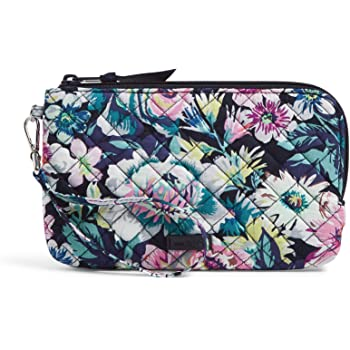 Vera Bradley Signature Cotton Wristlet with RFID Protection