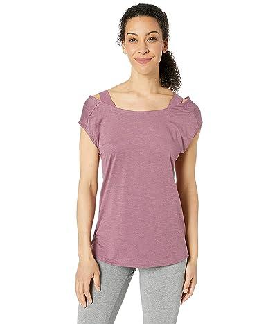 Columbia Place To Placetm Short Sleeve Shirt (Antique Mauve Heather) Women