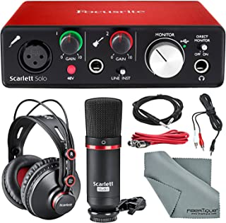 Best focusrite itrack solo mic preamp Reviews