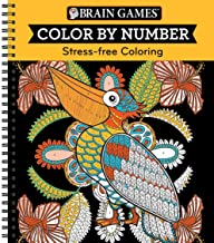 Brain Games – Color by Number: Stress-Free Coloring (Orange) PDF