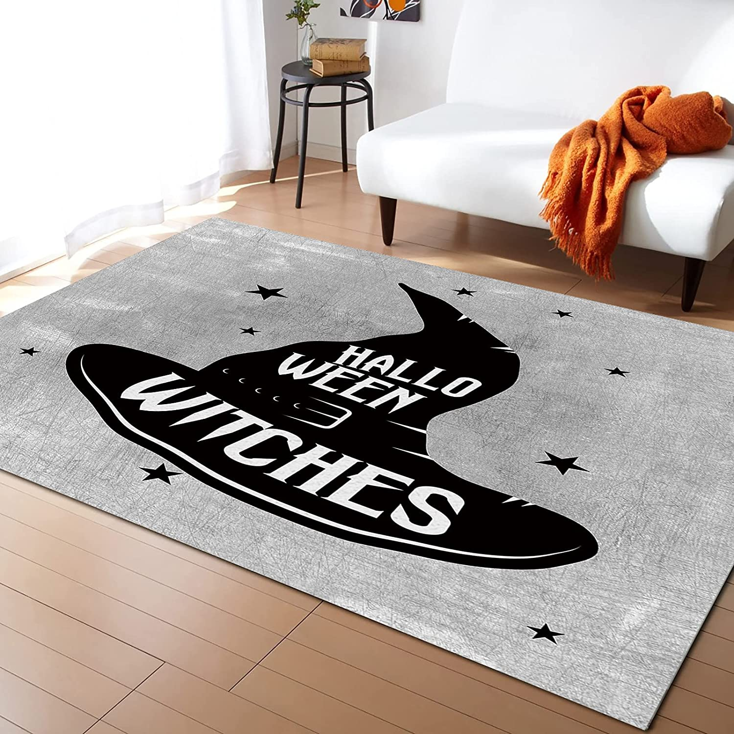 Max 86% OFF LEOSUCRE Large Area Rugs 5' x Challenge the lowest price of Japan ☆ Halloween Carp Wizard Throw 8' Hat