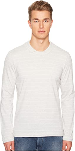 Johnny Collar Cotton Sweater