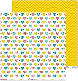 Anita y Su Mundo Collection Puro Amor Papiers de scrapbooking, papier, cœurs, 30,5 x 30,5 cm