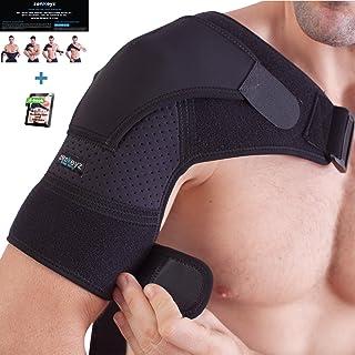 Shoulder Brace for Men and Women+ Bonus – for Torn Rotator Cuff Support,Tendonitis,..