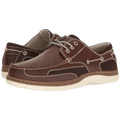 Dockers Lakeport Boat Shoe (Red Brown) Men