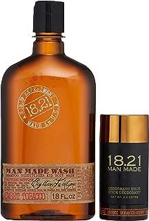18.21 Man Made Wash & Deodorant Gift Set