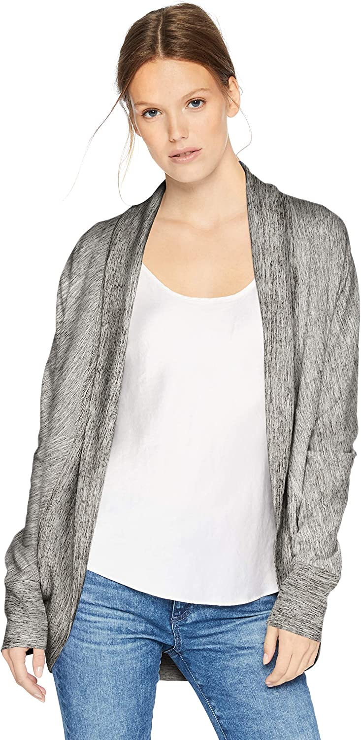 Daily Ritual Women's Terry Cotton and Modal Oversized-Fit Cocoon Sweatshirt
