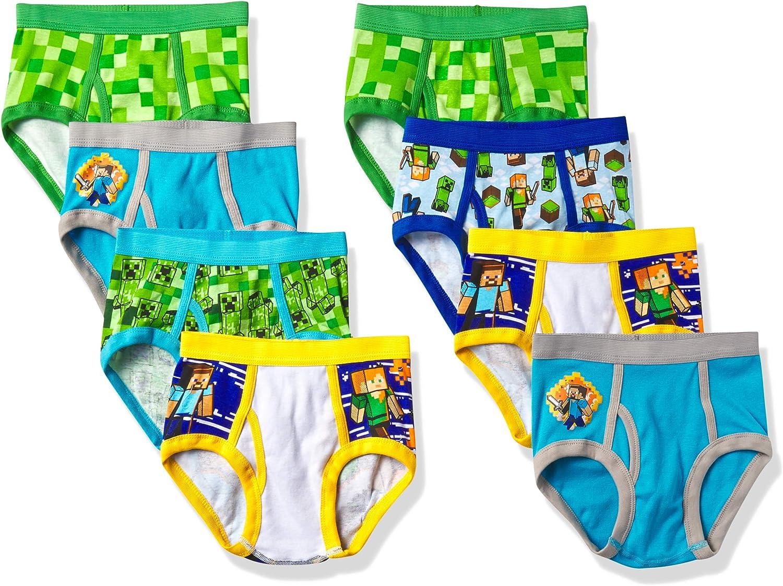 Minecraft Boys' Underwear Multipacks