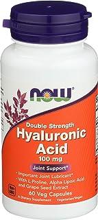 Hyaluronic Acid 100mg 60 VegiCaps (Pack of 2)