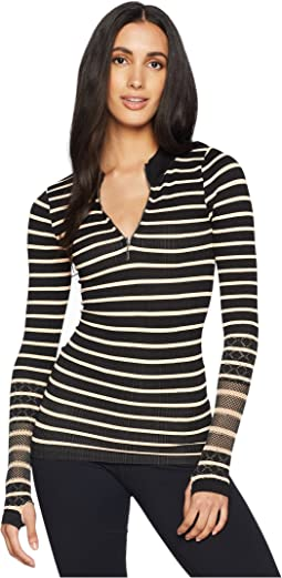 Free People Movement Striped Slay Top