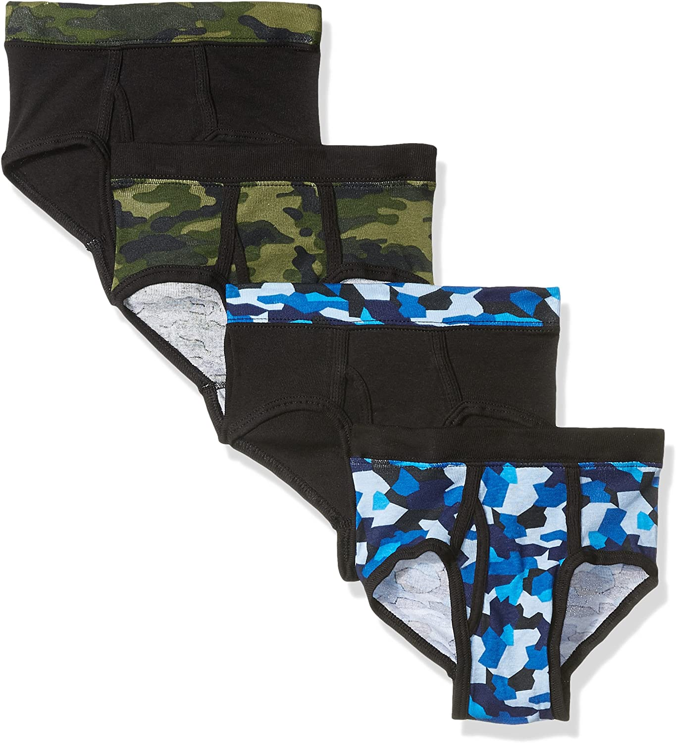 Hanes Big Boys Ultimate ComfortSoft Dyed Briefs 4-Pack