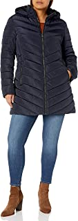 Women's Plus Size Long Puffer Coat
