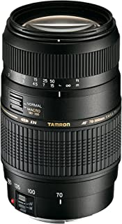 Tamron A17E AF 70-300mm F/4-5.6 Di LD Macro Telephoto Zoom Lens with Hood for Canon DSLR Camera (Black)