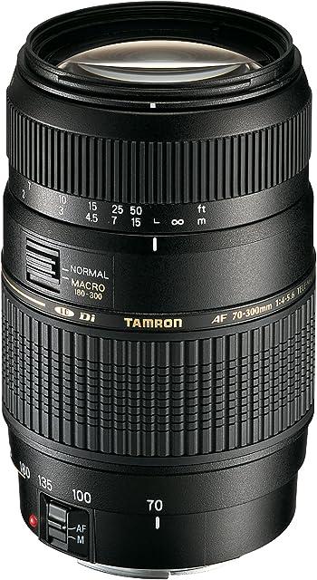 Tamron A17E - Objetivo para Canon (70-300 mm f/4-5.6 Macro AF 62 mm) color negro
