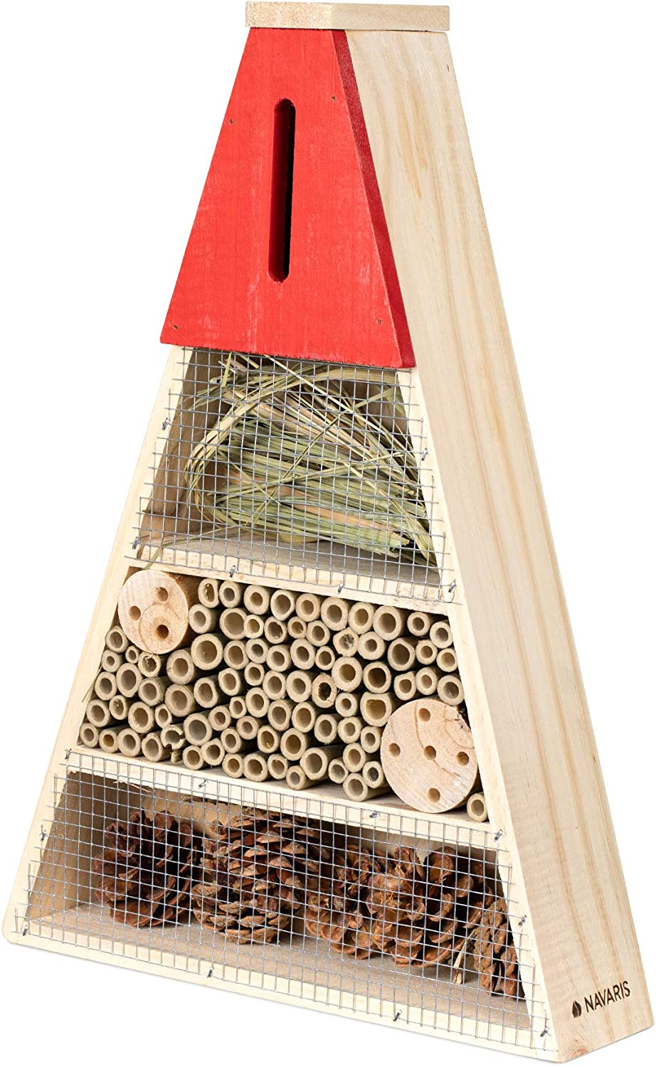 Navaris Wood Triangle Insect 67% OFF of fixed price Hotel - 11