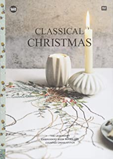 CLASSICAL CHRISTMAS: The legendary embroidery book series for counted cross stitch