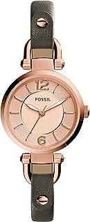 Fossil Women's ES3862 Georgia Analog Quartz Grey Watch