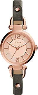 Fossil Women's ES3862 Georgia Analog Quartz Grey Watch