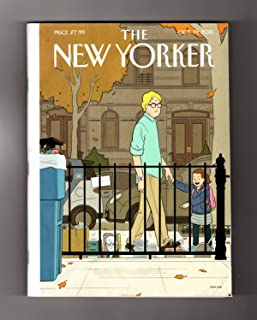 The New Yorker - October 19, 2015. Adrian Tomine Cover, 'Recognition'. Ben Marcus Fiction, 'Cold Little Bird'. School Shootings;New Harlequin Titles; Henry David Thoreau; Gloria Steinem; Riad Sattouf