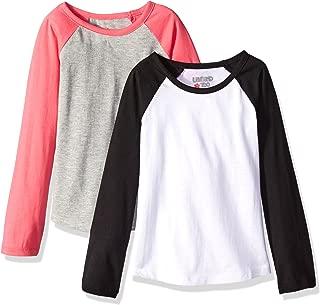 Limited Too Girls' 2 Pack: Long Sleeve Baseball Tee-Shirt