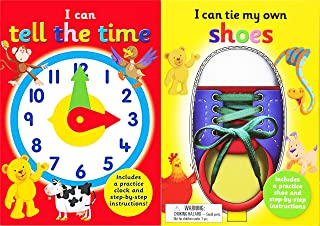I Can Series 2 Books Collection Set (I Can Tie My Own Shoelaces, I Can Tell The Time)