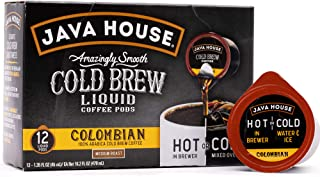 Java House Cold Brew Coffee Liquid Pods